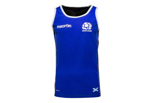 Scotland 2016/17 Players Dry Rugby Gym Singlet