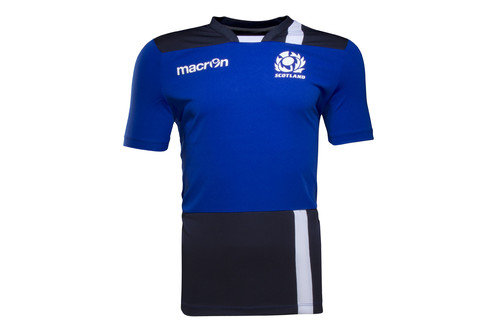 Scotland 2016/17 Players Dry Rugby Gym T-Shirt