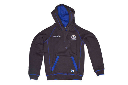 Scotland 2016/17 Kids Heavy Cotton Hooded Rugby Sweat