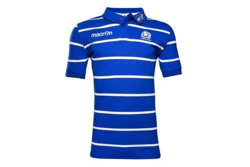 Scotland 2016/17 Cotton Travel Rugby Polo Shirt