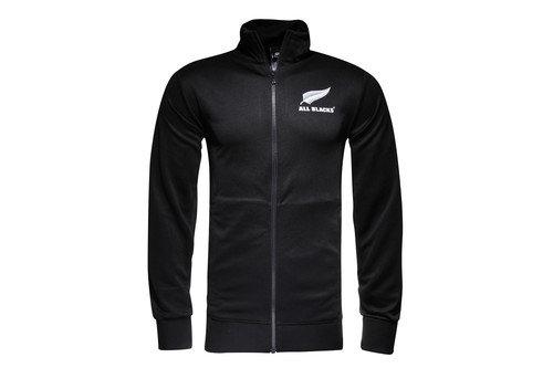 New Zealand All Blacks 2016/17 Essentials Full Zip Rugby Track Jacket
