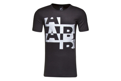 New Zealand All Blacks Graphic Rugby T-Shirt