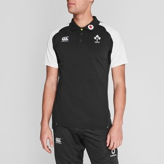 Ireland Rugby Polo Shirt Mens