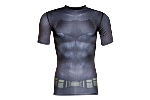 Batman Transform Yourself Kids Compression S/S T-Shirt
