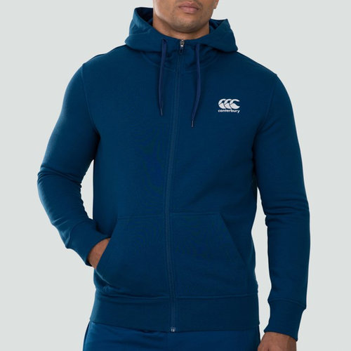 Full Zip Fleece Hoodie Mens