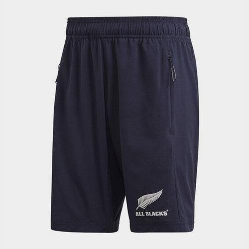 New Zealand All Blacks Mens Woven Shorts Primeblue