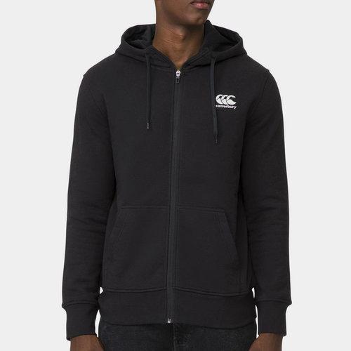 Full Zip Fleece Hoodie Mens
