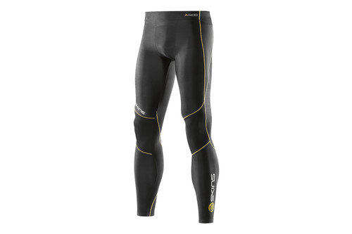 SKINS A400 Mens Logo Line Compression Long Tights
