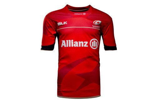 Saracens 2016/17 Kids Alternate S/S Replica Rugby Shirt