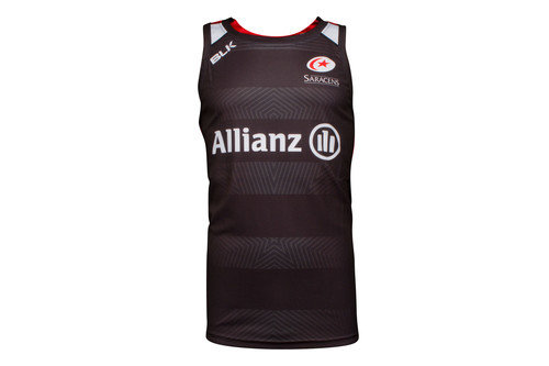 Saracens 2016/17 Players Rugby Training Singlet