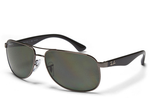 Ray-Ban 3502 Polarized Green Classic Sunglasses