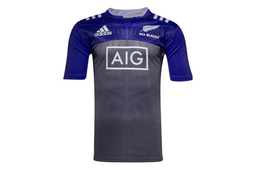 New Zealand All Blacks 2016/17 Players Training Rugby Shirt