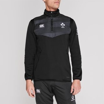 Ireland 2019/20 Quarter Zip Training Top Mens