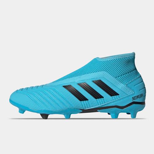 Predator 19.3 Childrens Laceless FG Football Boots