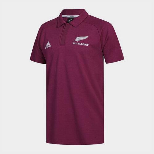 New Zealand All Blacks Mens Polo Shirt Primeblue
