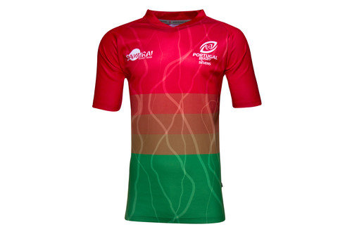 Portugal 7s 2016/17 Home S/S Replica Rugby Shirt