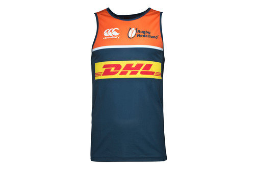 Netherlands 2016/17 Players Rugby Training Singlet