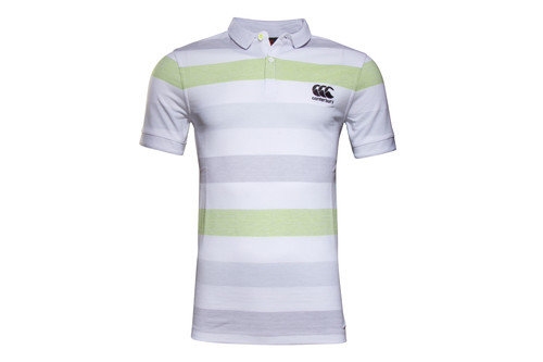 CCC Jacquard Stripe Off Field Rugby Polo Shirt