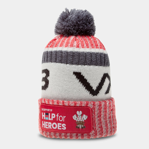 Wales Help For Heroes Bobble Hat