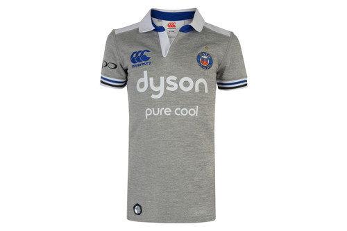 Bath 2016/17 Alternate Kids S/S Pro Rugby Shirt