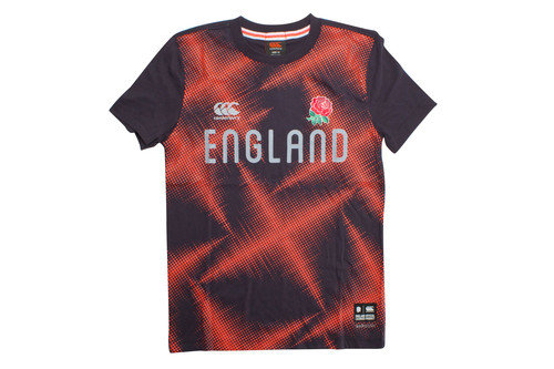 England 2016/17 Kids Vapodri Rugby Training T-Shirt