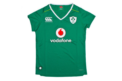 Ireland IRFU 2016/17 Ladies Home Pro S/S Rugby Shirt