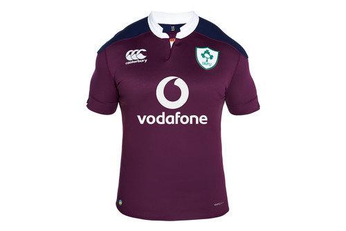 Ireland IRFU 2016/17 Kids Alternate Pro S/S Replica Rugby Shirt