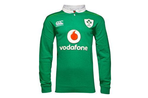 Ireland IRFU 2016/17 Home Classic L/S Rugby Shirt