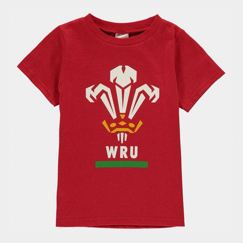 WRU Short Sleeve T Shirt Infant Boys