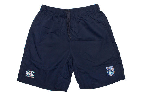 Cardiff Blues 2016/17 Players Rugby Gym Shorts
