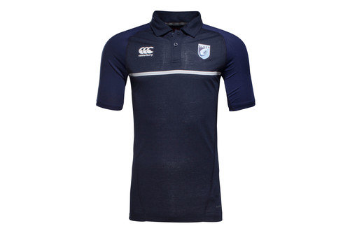 Cardiff Blues 2016/17 Players Rugby Polo Shirt