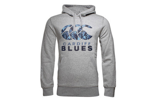 Cardiff Blues 2016/17 Players Off Field Hooded Rugby Sweat