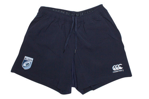 Cardiff Blues 2016/17 Home Players Rugby Shorts
