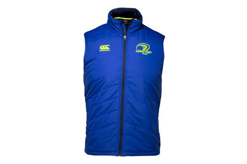 Leinster 2016/17 Players Rugby Sideline Padded Gilet