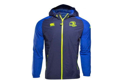 Leinster 2016/17 Full Zip Shower Proof Rugby Jacket