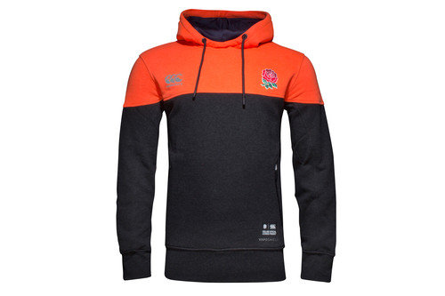 England 2016/17 Overhead Hooded Rugby Sweat