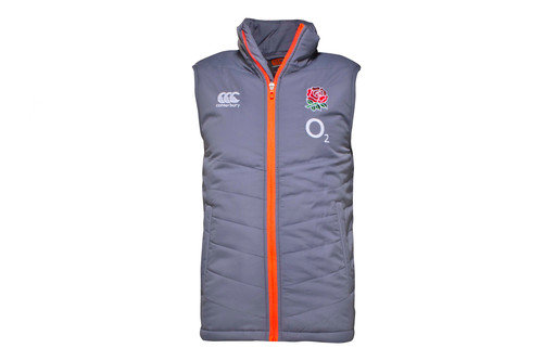 England 2016/17 Players Rugby Sideline Padded Gilet