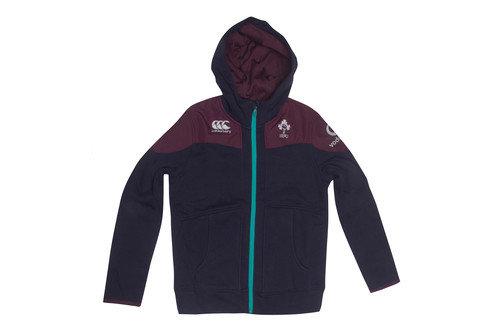 Ireland IRFU 2016/17 Kids Training Full Zip Hooded Rugby Sweat