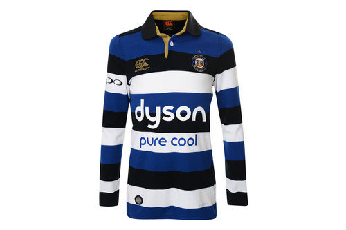 Bath 2016/17 Kids Home L/S Classic Rugby Shirt