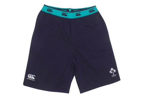 Ireland IRFU 2016/17 Off Field Fleece Rugby Shorts