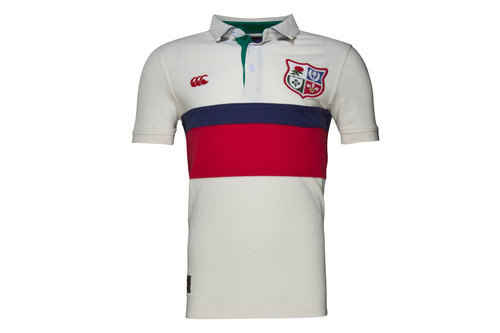 British & Irish Lions 1888 Panel Pique Rugby Polo Shirt
