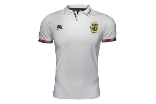 British & Irish Lions 2017 Cotton Training Rugby Polo Shirt