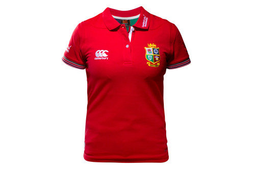 British & Irish Lions 2017 Ladies Rugby Training Polo Shirt