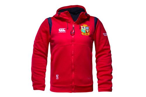 British & Irish Lions 2017 Ladies Full Zip Fleece Hooded Rugby Sweat