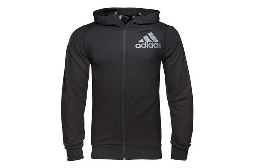 Prime Climalite Full Zip Training Hooded Sweat