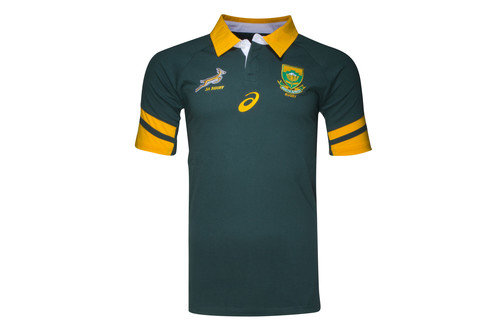 South Africa Springboks 2016/17 S/S Supporters Rugby Shirt
