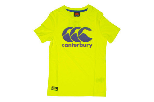 Canterbury ccc logo kids t shirt lovell rugby for Safety t shirt logos