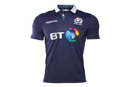 Scotland 2016/17 Home S/S Replica Rugby Shirt