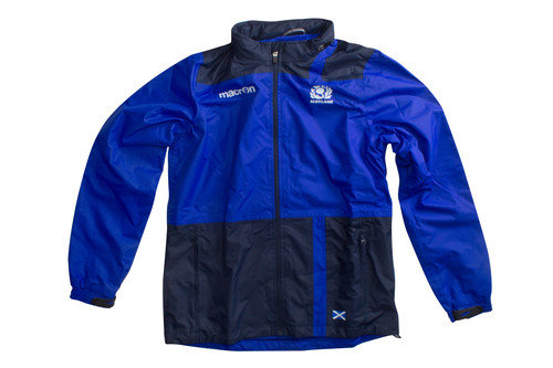 Scotland 2016/17 Kids Full Zip Shower Proof Rugby Jacket