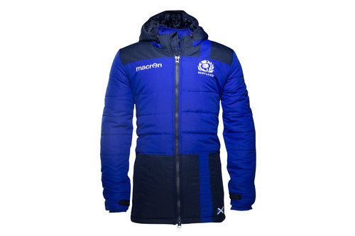 Scotland 2016/17 Players Long Travel Padded Rugby Jacket